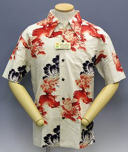 Surf Aloha shirts foo dog