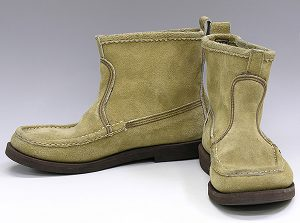Russell Moccasin suede knock About boots