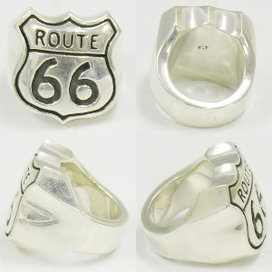 BIGTWIN  ROUTE66 silver