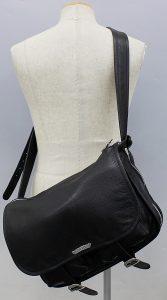 CHROME HEARTS leather shoulder bag