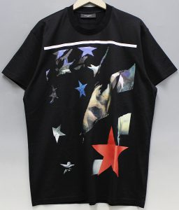 GIVENCHY 12AW APACHE STAR PRINT T