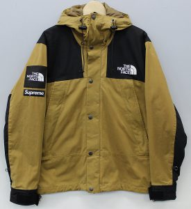 SUPREME×NORTHFACE 10AW Waxed Cotton Parka