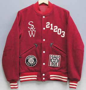 SUPREME×WTAPS baseball jacket 1