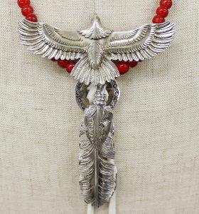 THE FLATHEAD eagle necklace 1