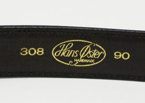 HANSOSTER Leather belt 2