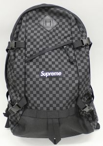 SUPREME 11AW Printed Check Backpack