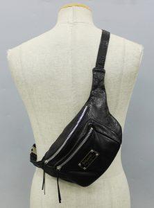 WACKO MARIA×PORTER Leather waist bag 2