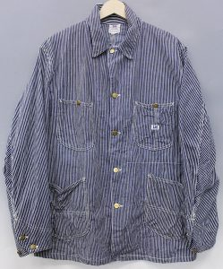 Lee 40s 98-J Hickory coveralls 1