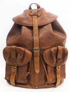 RRL Riley Leather Backpack 1