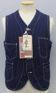 FREEWHEELERS UNION SPECIAL OVERALLS -CONDUCTOR VEST
