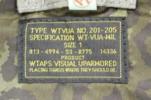 WTAPS 12AW MA-1-3