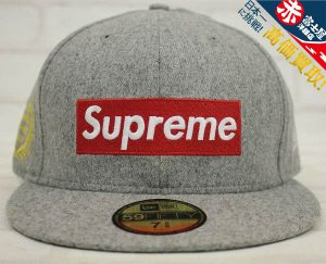 SUPREME 12ss NewEra Box Logo Cap National Champions シュプリーム