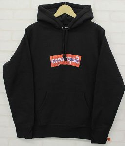 Supreme® 17ss Comme des Garcons SHIRT® Box Logo Hooded Sweatshirt シュプリーム コムデギャルソンシャツ ボックスロゴパーカー