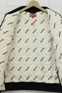 SUPREME 16AW Blocked Quilted Jacket2