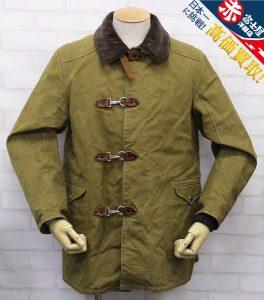 バーンストーマーズ ファイヤーチーフターンアウトコート BARNSTORMERS 1940s Fire Chief Turn Out Coat J13-01OD