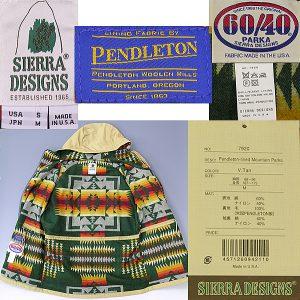 Sierra Design × Pendleton Mountain Parker2
