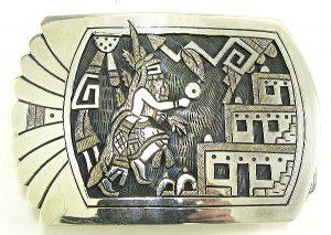 hopizoku RONALD WADSWORTH silver Buckle
