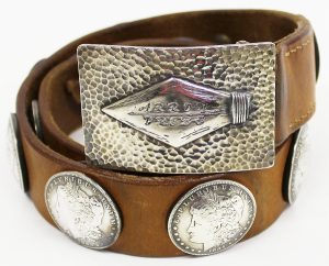 Arrow Tribe count up concho belt 1