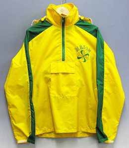 NIKE pinwheel orangetag zip‐up jacket 1