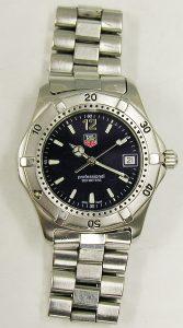 TAG HEUER 200M professional wristwatch
