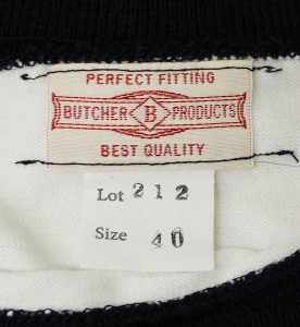 AtLast&Co BUTCHER PRODUCTS Border T-shirt 2