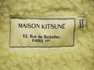 MAISON KITSUNE Corduroy jacket bore 2