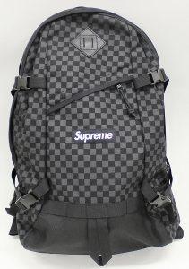 SUPREME 11AW Printed Check Backpack