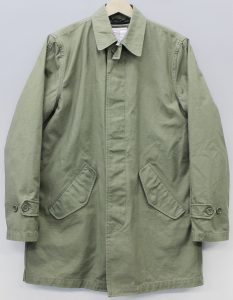 SUPREME 12AW Army Trench Coat1