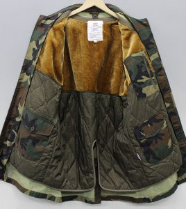 SUPREME 12AW Army Trench Coat2