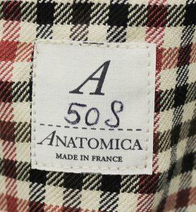 ANATOMICA CAVALIERE Check jacket 2
