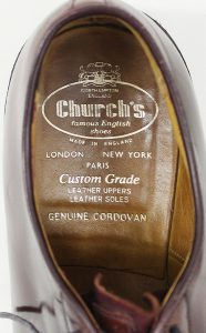 Church's Shannon cordovan shoes 2