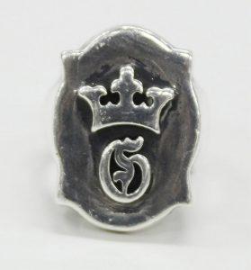 GABOR G&Crown raised de shield ring 2