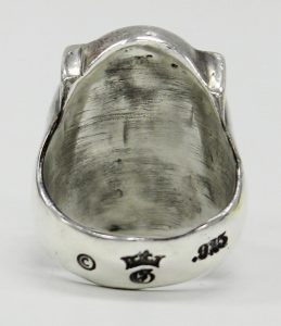 GABOR G&Crown raised de shield ring 3