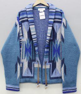 GANRYU Native knit cardigan 1