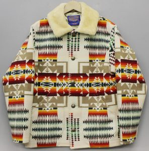 PENDLETON Native pattern blanket coat