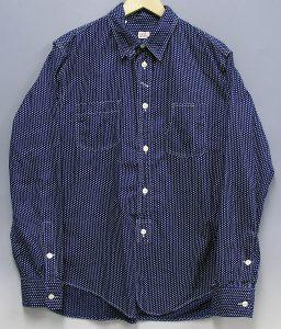 ワーカーズ(WORKERS) ポルカドットワークシャツ