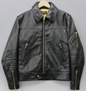 ATTRACTIONS EDDIE LEGEND STORY LEATHER JACKET