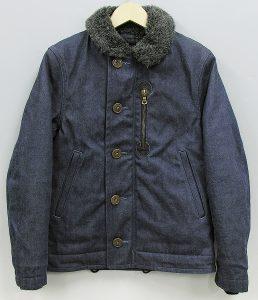 BLUEBLUE デニムボアデッキジャケット