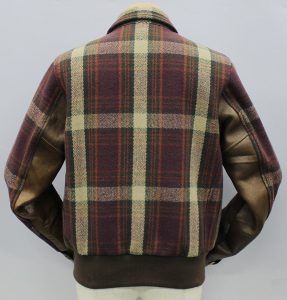 DUCKDIGGER Wool×Horse Leather Combi Sports Jacket2