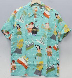 KEONI OF HAWAII(ケオニオブハワイ) アロハシャツ ハワイへ行こう