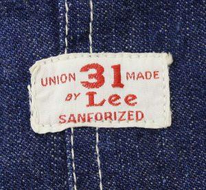 Lee 30s 31デニムオーバーオール3