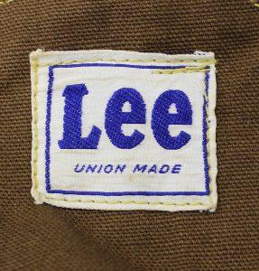 Lee 50s D92SB ブラウンダックオーバーオール3