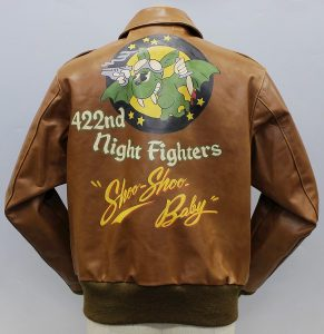 BuzzRickson's BR80143 A-2 422nd Night Fighters ハンドペイントモデル