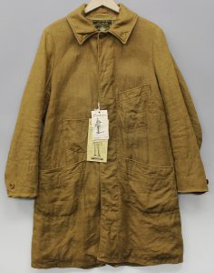 FREEWHEELERS GREAT LAKES GMT.MFG.CO. Benjamin LATE1800's OVERCOAT