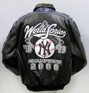 GIII MLB ヤンキース 2000年優勝記念 レザージャケット