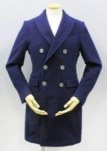 マージャーズ(MAGYARS) ウールブランケット6Bダブルチェスターコート(Wool Blanket 6B double chester coat)