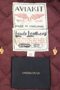 LEWISLEATHERS×UNDERCOVER 16ss CYCLONE4