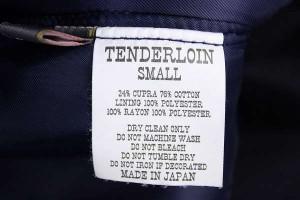 テンダーロイン 15AW T-3B プリマロフト TENDERLOIN5