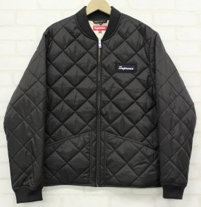 SUPREME 16AW Blocked Quilted Jacket
