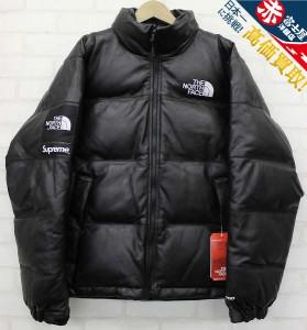 Supreme×The North Face Leather Nuptse Jacket シュプリーム ノースフェイス レザーヌプシダウンジャケット